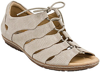 Earth Plover Ghillie Sandals $99.99 thestylecure.com