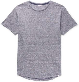 Orlebar Brown Ob-T Slim-Fit Striped Slub Linen-Jersey T-Shirt