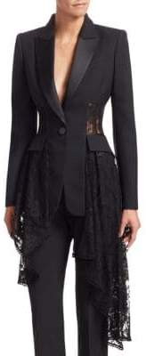 227f752a79 Alexander McQueen Black Long Sleeve Women s Jackets - ShopStyle