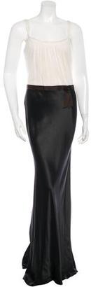 Vera Wang Colorblock Sleeveless Dress $130 thestylecure.com
