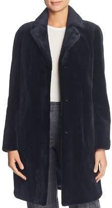 Maximilian Furs Sheared Mink Fur Coat