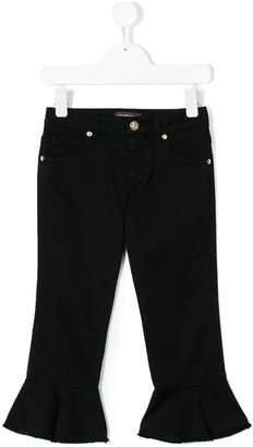 Roberto Cavalli Junior flared jeans