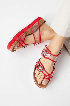 Jeffrey Campbell Clear Skies Footbed Sandal