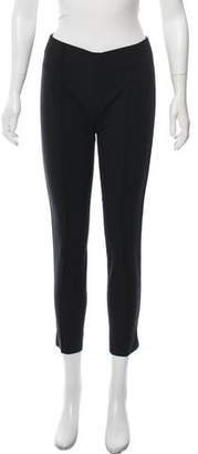 Yigal Azrouel Cropped Mid-Rise Pants