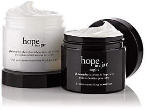 philosophy Super-Size Hope In A Jar Am/Pmmoisturizer Duo