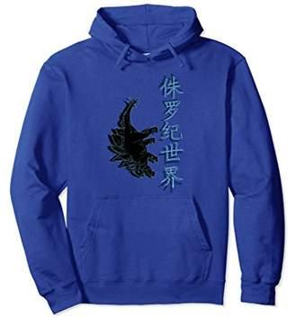 Jurassic World Dinosaur Graphic Design Hooded Sweatshirt