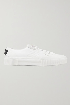 Givenchy Tennis Light Suede-trimmed Leather And Rubber Sneakers - White