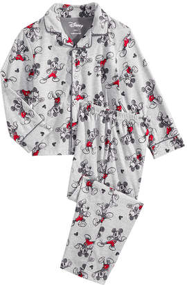 LTB Mickey Mouse 2-Pc. Toddler, Little & Big Boys Pajama Set