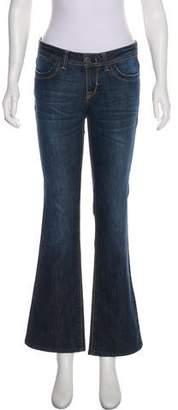 DL1961 Mid-Rise Boot-Cut Jeans