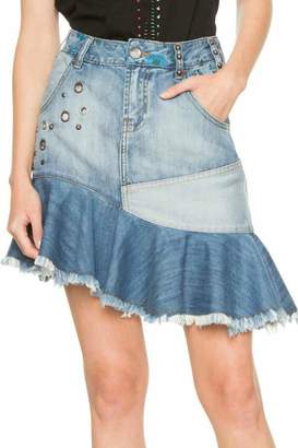 Desigual Eleni Denim Skirt