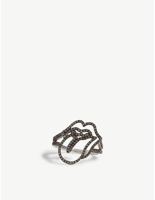 Jade Jagger Rolling Stones diamond ring