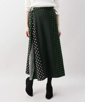 Limitless Luxury (リミットレス ラグジュアリー) - Limitless Luxury ミックスプリントロングスカート