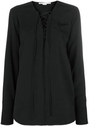 Stella McCartney deep v neck blouse