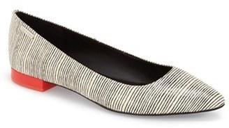 Calvin Klein 'Ellasandra' Pointy Toe Flat (Women) $98.95 thestylecure.com