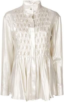 Maggie Marilyn textured sheen shirt