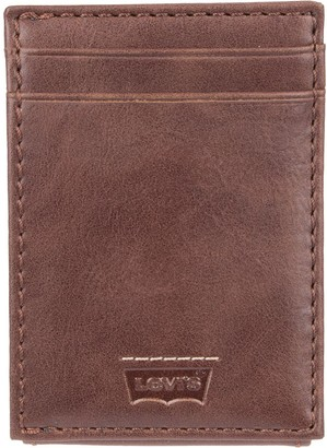 Levi's Levis Men's Levi's& RFID-Blocking Front-Pocket Wallet With Magnetic Money Clip