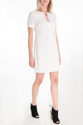 KUT from the Kloth Lace Up Dress