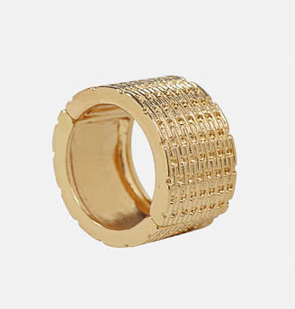 Avenue Gold Weave Stretch Ring