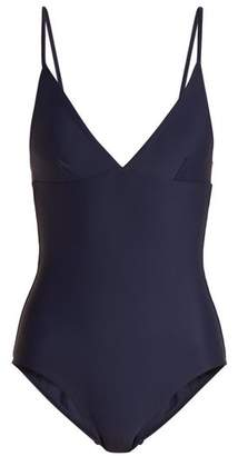 Matteau - The Plunge Swimsuit - Womens - Navy