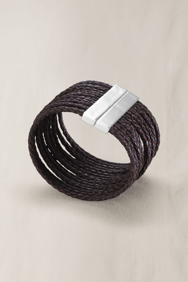 Women's Multi Strand Leather Bracelet