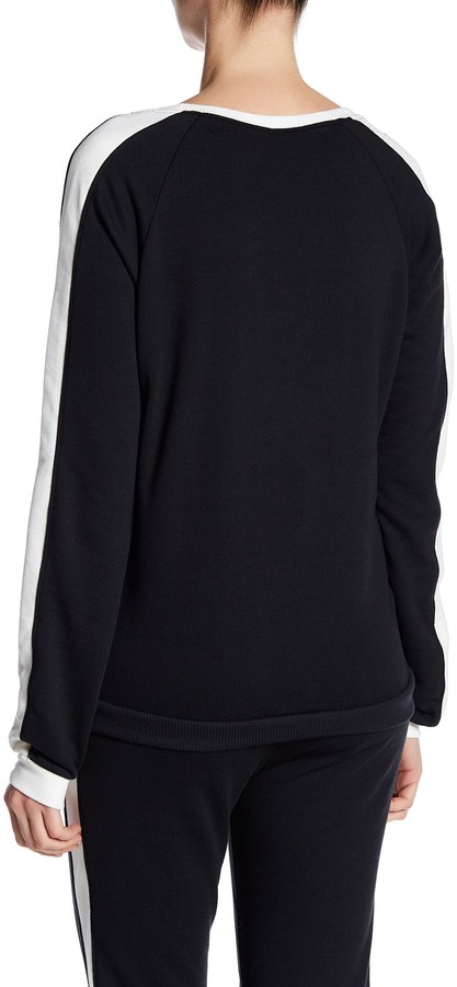 Alternative Long Sleeve Stripe Pullover 2