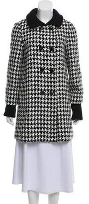 Alice + Olivia Houndstooth Short Coat
