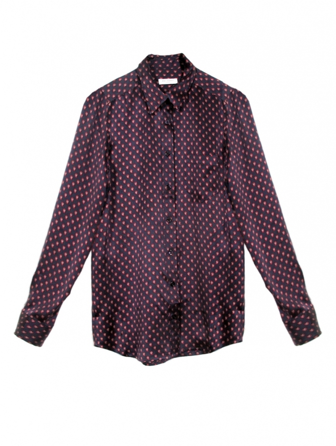 Equipment Brett Paisley Print Blouse