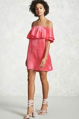 Forever 21 Contemporary Flounce Dress