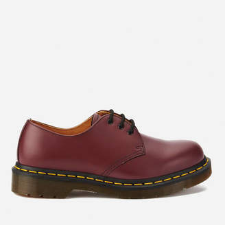 Dr. Martens 1461 Smooth Leatehr 3-Eye Shoes - Cherry Red