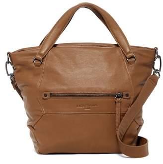 Liebeskind Berlin Manhattan Leather Multi Panel Vintage Shoulder Bag