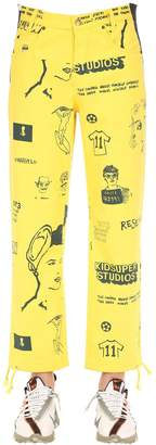 Kidsuper Studios Canadian Tux Bottom Denim Pants