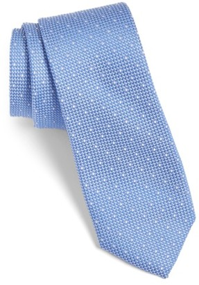 Men's Calibrate Dot Cotton & Silk Tie $49.50 thestylecure.com
