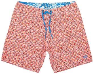 Panareha Adraga Beach Shorts in Red