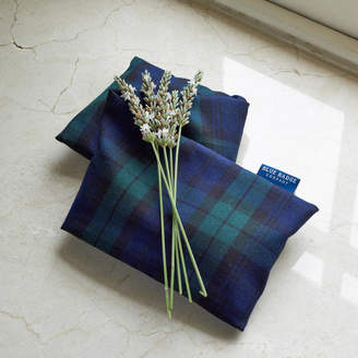 Blue Badge Co Microwavable Lavender Wheat Warmer In Tartan