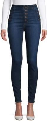 J Brand High-Waist Skinny Jeans