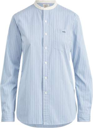 Ralph Lauren Band-Collar Button-Down Shirt