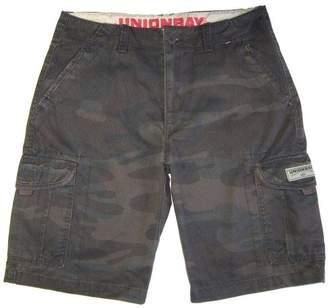 UNIONBAY MEN'S CARGO SHORTS, Solid Khaki's or Camoflage,