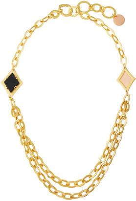 Stephanie Kantis Illumination Layered Necklace