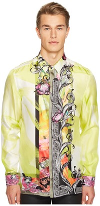 Versace Collection - Long Sleeve Button Down Men's Long Sleeve Button Up $625 thestylecure.com