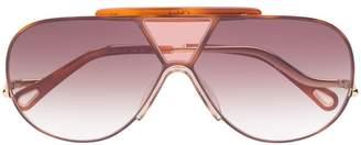 Chloé Eyewear aviator style sunglasses