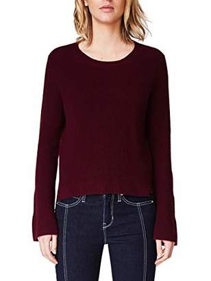 Nicole Miller Women's Cashmere Bell Sleeve Sweater