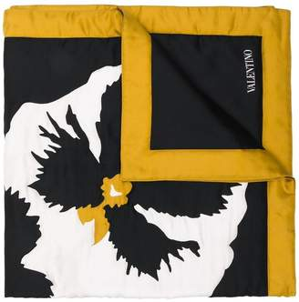 Valentino printed logo scarf