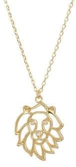 Kate Spade Celestial Charm Leo Pendant Necklace