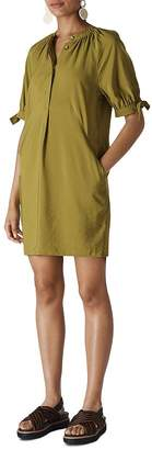 Whistles Celestine Half-Placket Dress