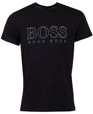 BOSS Tee Logo Reflected Artwork T-shirt Colour  BLACK 8ebf02f706941