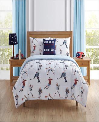 Sanders Sport Team Full 7 Piece Comforter Set Bedding
