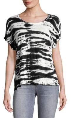 RtA Dawn Zebra-Print Tee