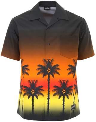Marcelo Burlon County of Milan Palms Print Shirt