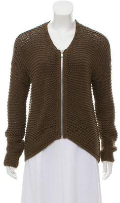 Helmut Lang Long Sleeve Knit Jacket