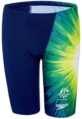Speedo Boys Commonwealth Games 18 Replica Jammer